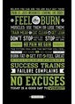 Pyramid International Maxi Poster Gym Motivational Renkli